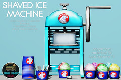 Junk Food - Shaved Ice Machine @ N21