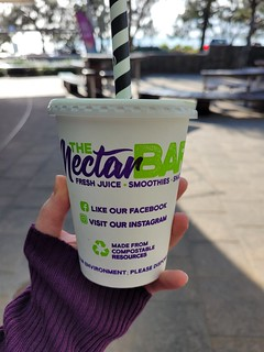 Smoothie from Nectar Bar
