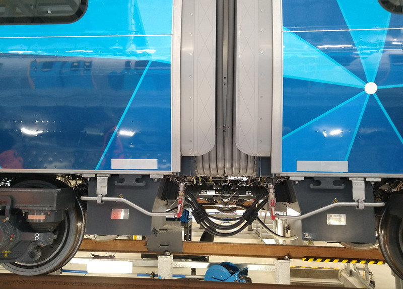 Evolution (HCMT) trains at Pakenham East depot/TMF