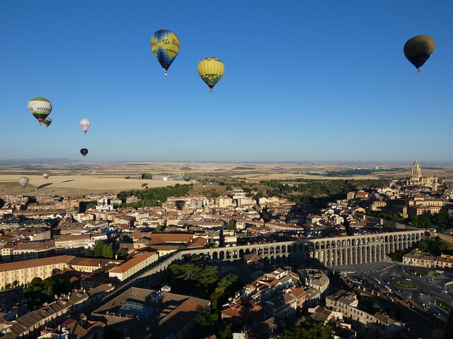 Globos sobre Segovia