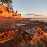 Fannie Bay Cliffs - dry season nights