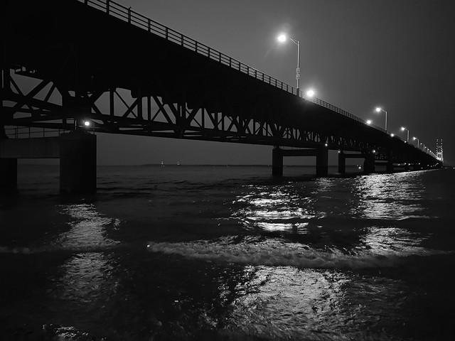 Mackinac Bridge Lights