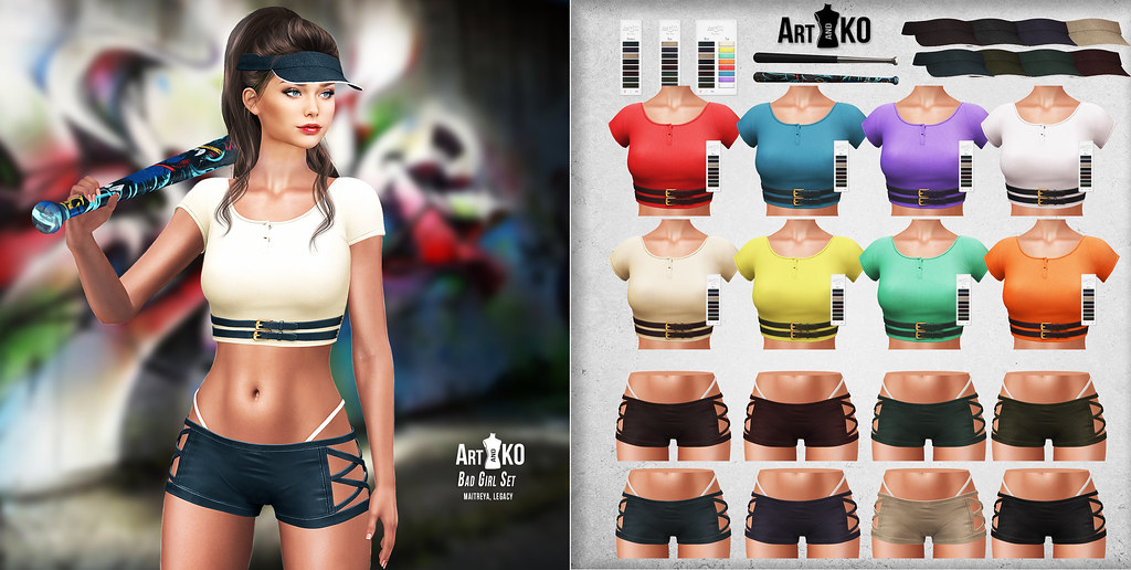 Art&Ko - Bad Girl Set - The Warehouse Sale