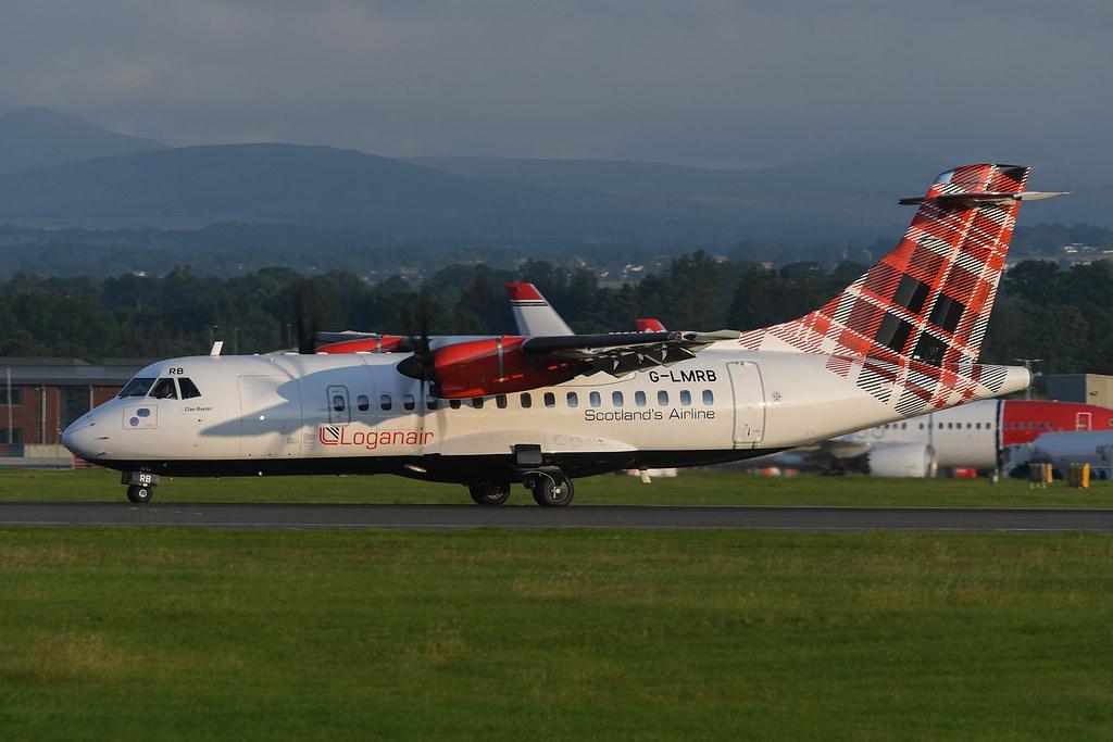 G-LMRB ATR42-500 EGPH 12-07-21