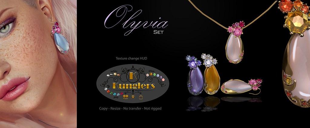 KUNGLERS - Olyvia set
