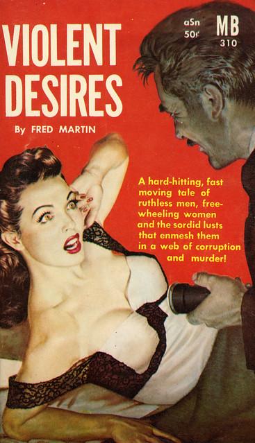 Magnet Books 310 - Fred Martin - Violent Desires