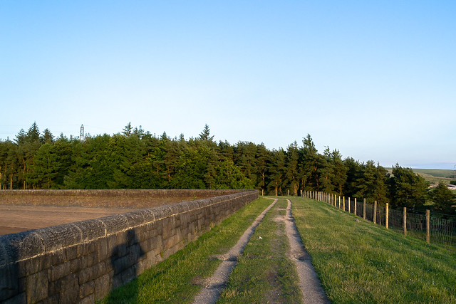 Hurstwood Reservoir ,Lancashire - July 2021