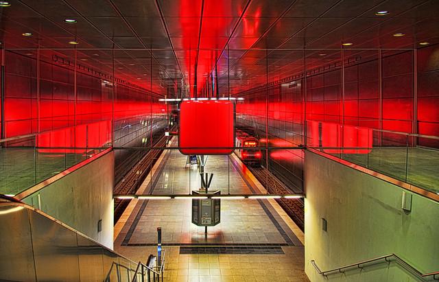 Hamburg U-Bahn HafenCity Universität 4