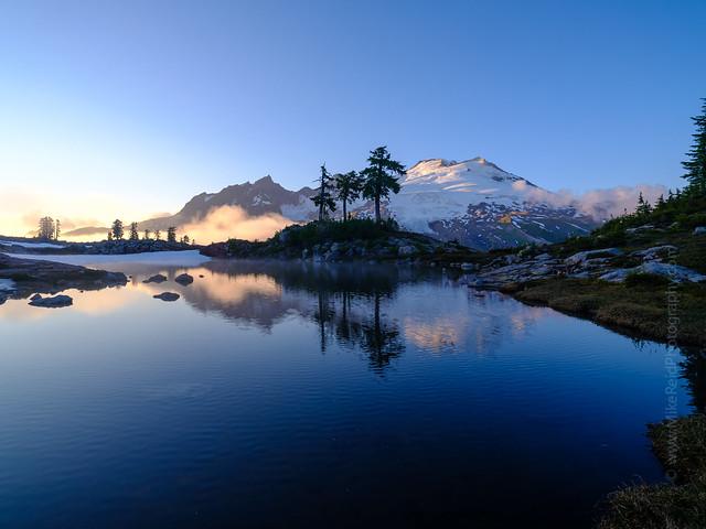 Mount Baker Tarn Reflection