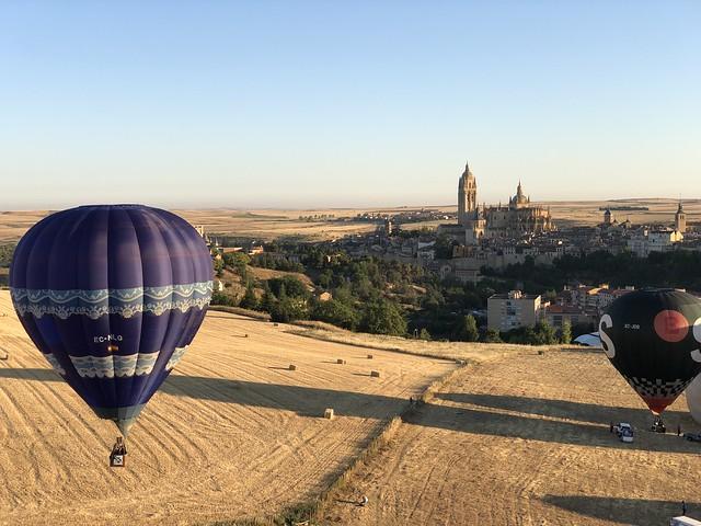 Festival de Globos en Segovia