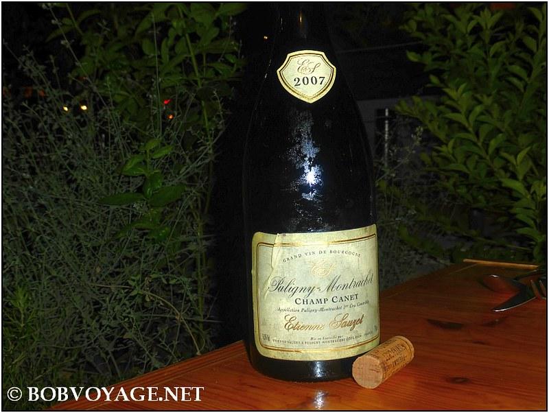 Etienne Sauzet Puligny Montrachet Champ Canet 2007 ב- דוק (Dok)
