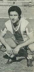 Temporada 1977/78: Solsona, jugador del Espanyol de Barcelona