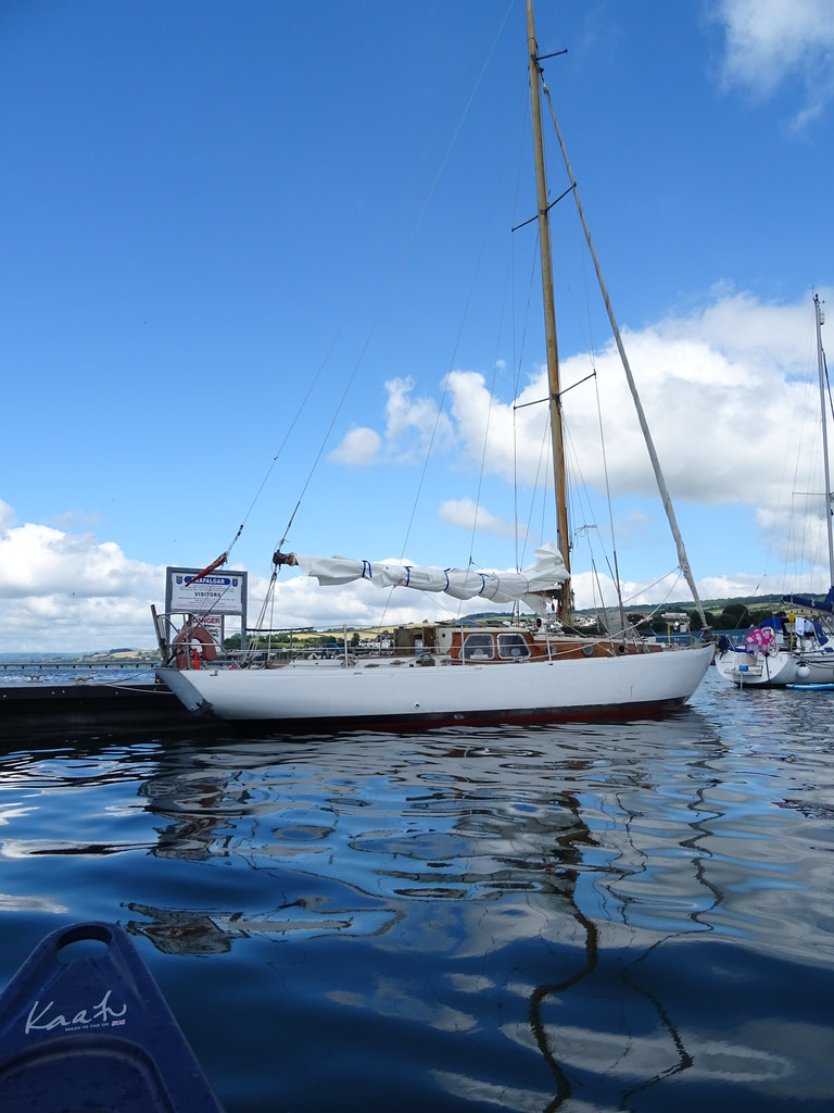 Gioconda is a 9 ton Jolina, designed by C. A. Nicholson and built by Clare Lallow in 1958