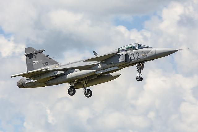 32, Saab JAS 39C Gripen Hungary Air Force @ Schleswig-Jagel ETNS