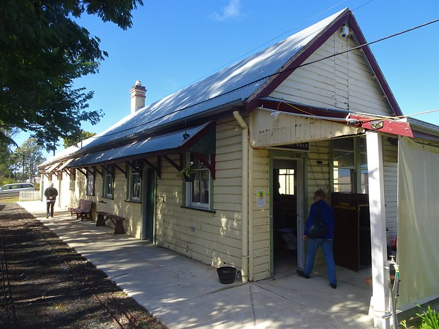 Casino. The railway from Murwillumbah reached Casino in 1894. This wooden railway station was erected in 1903.