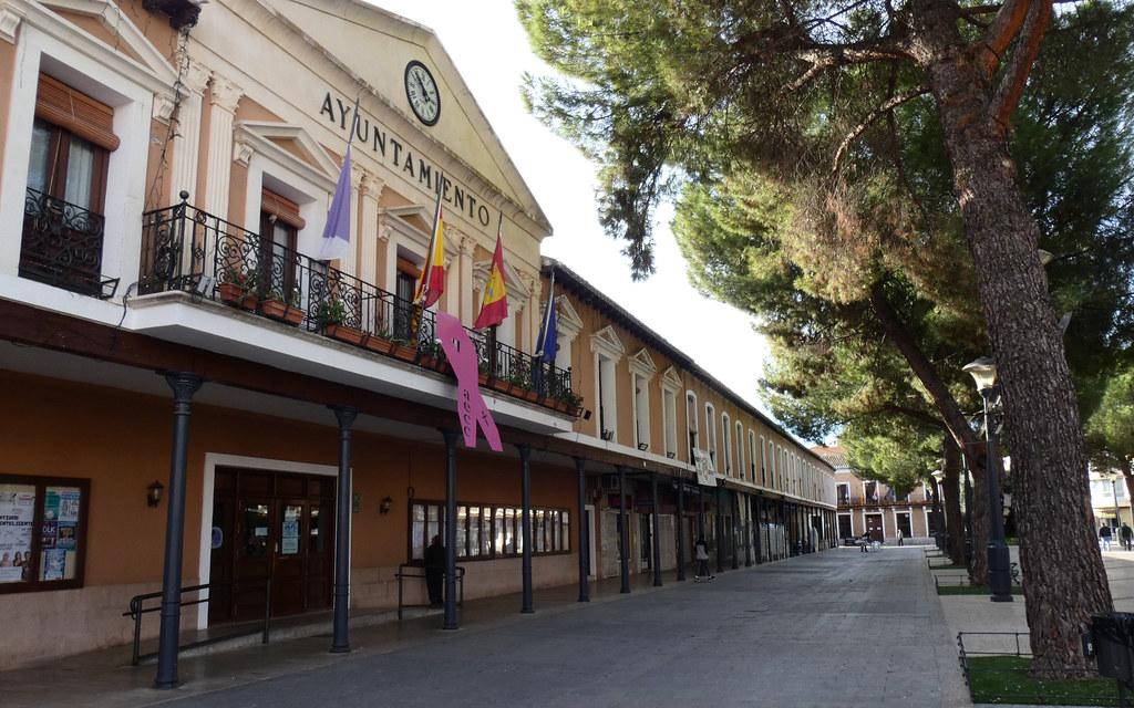 Plaza de España, Daimiel.