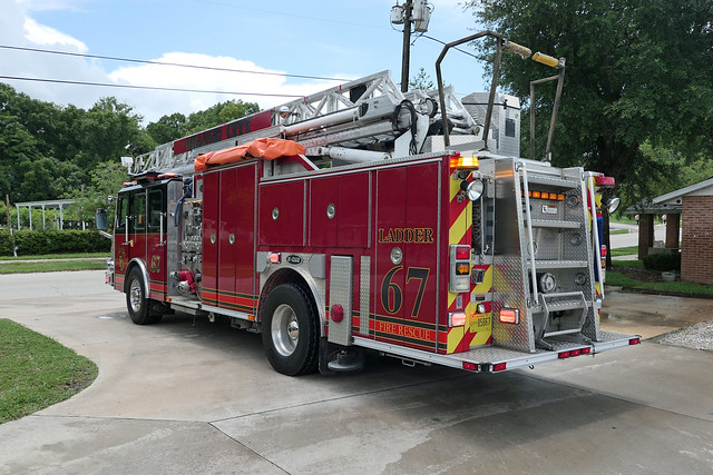 Orange City Fire Department Ladder 67