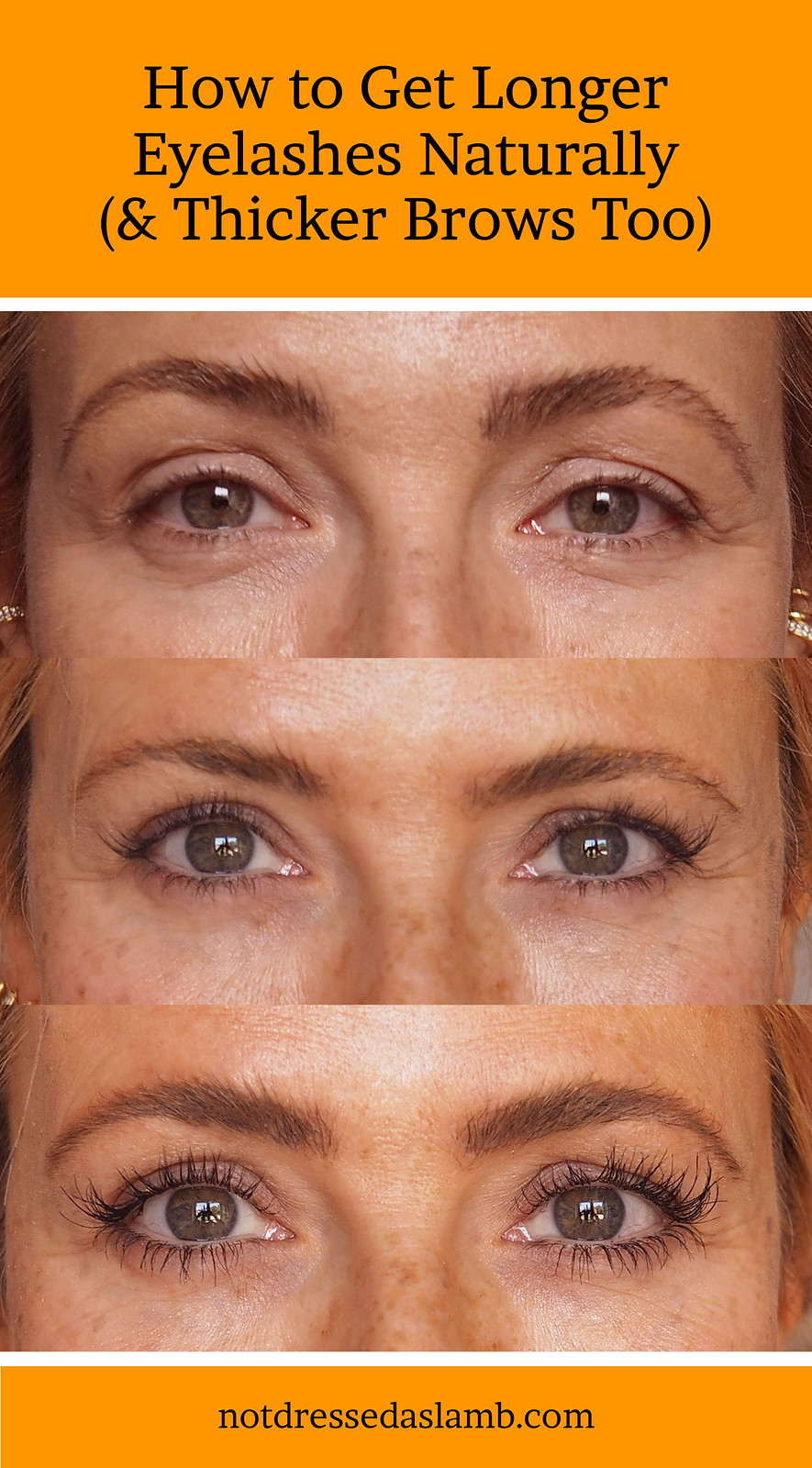 Revitalash review: How to Get Long Eyelashes (and Thicker Brows) Naturally
