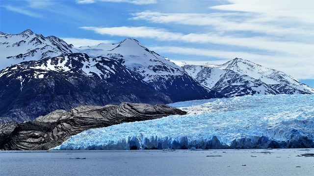 ...am Rand des Grey Gletschers......**explored**