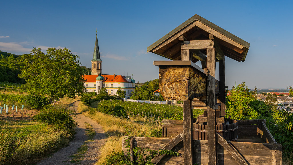 View of Gumpoldskirchen