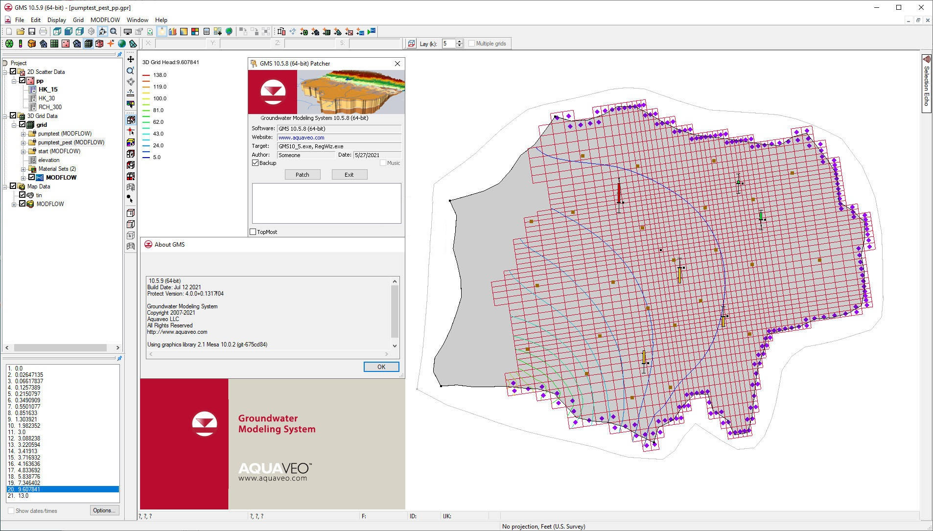 Working with Download Aquaveo Groundwater Modeling System Premium v10.5.9 x64 full