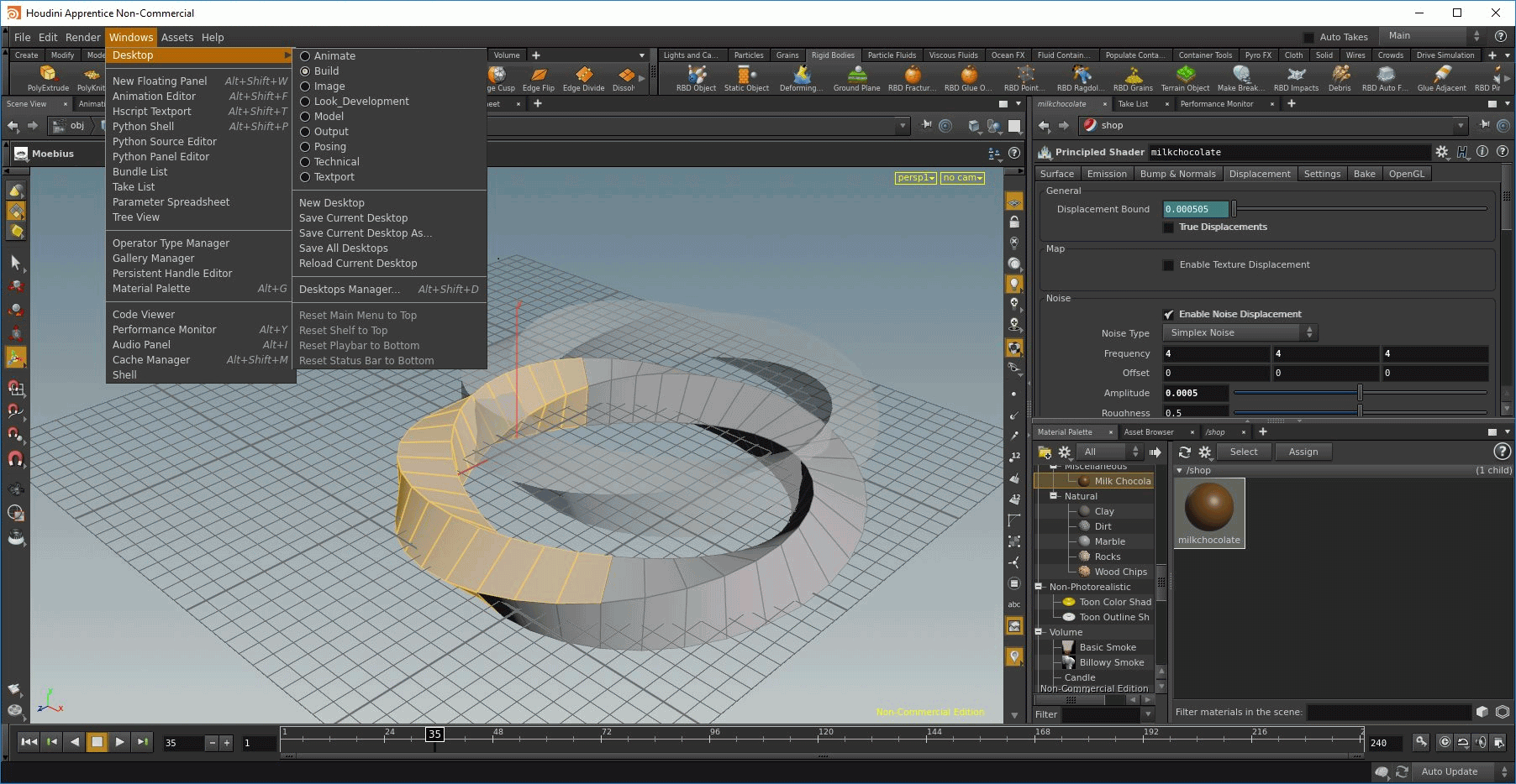 Working with SideFX Houdini 18.5.633 full