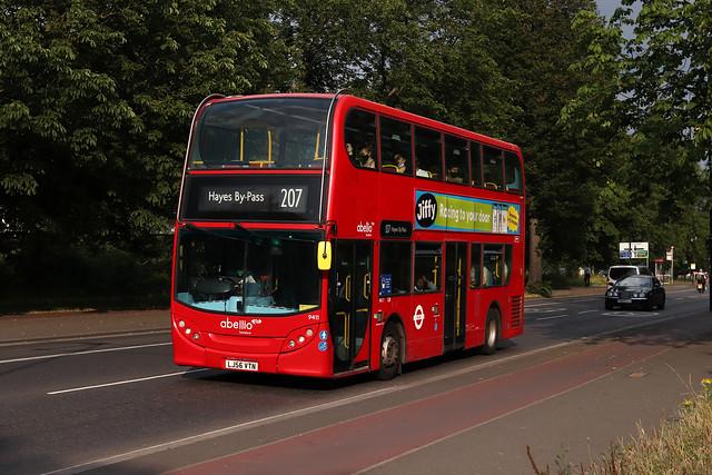 Route 207, Abellio London, 9411, LJ56VTN