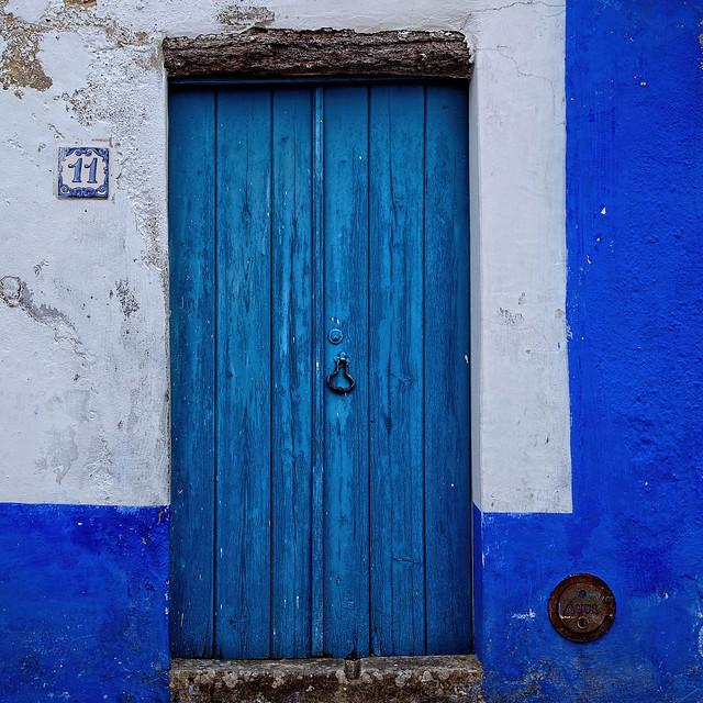 Portas e janelas - Porta Azul