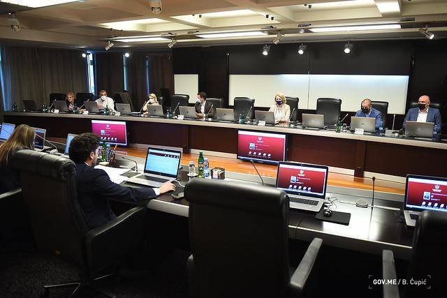 33. sjednica Vlade Crne Gore (22.07.2021.)