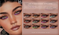 Synergy - Lelutka HD Eyeshadow Applier for EVO/EVO X heads - Cairns♥