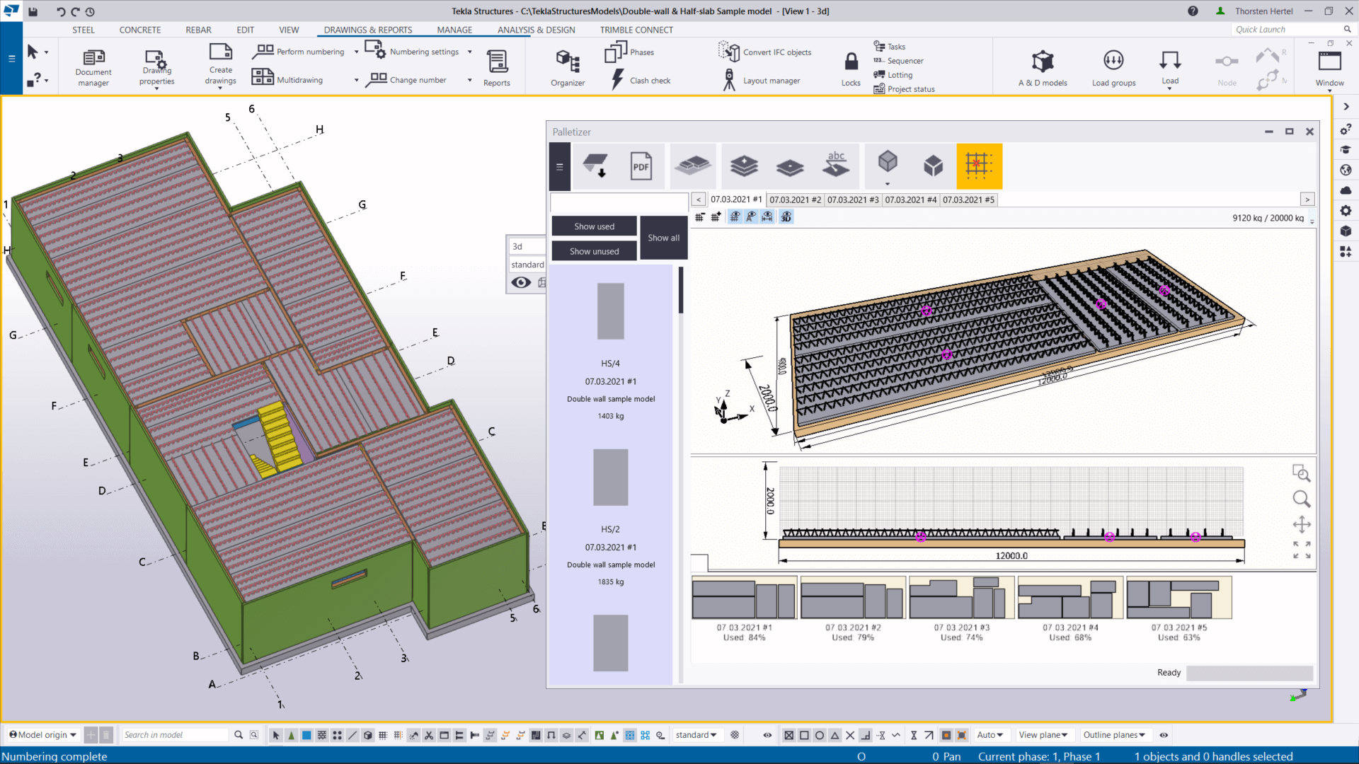 Working with Trimble Tekla Structures Design Suite 2021 SP2 full