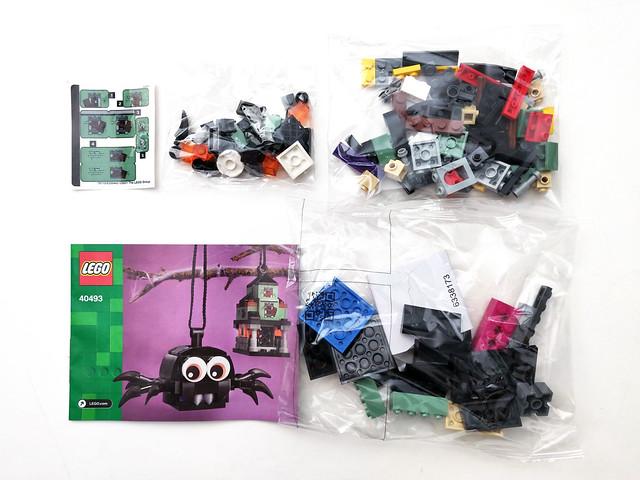LEGO Seasonal LEGO Seasonal Spider & Haunted House Pack (40493)