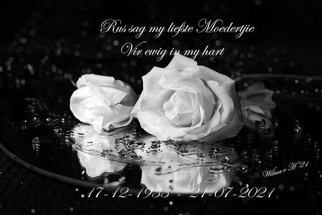RIP my dearest Mommy - 2021