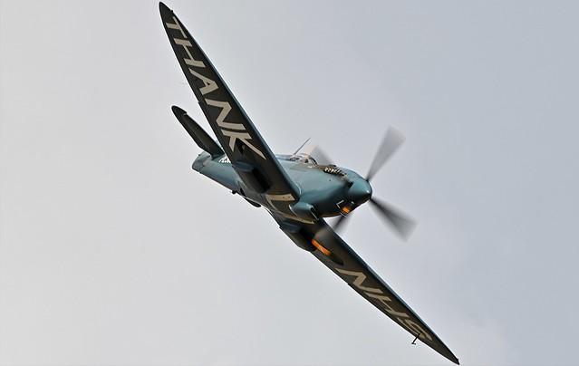 RAF Supermarine Spitfire G-PRXI PL983 Wartime Photo reconnaissance aircraf