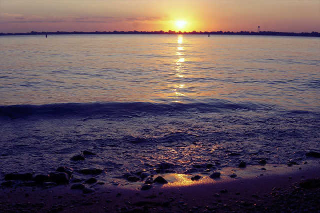 sunset over Kampeska