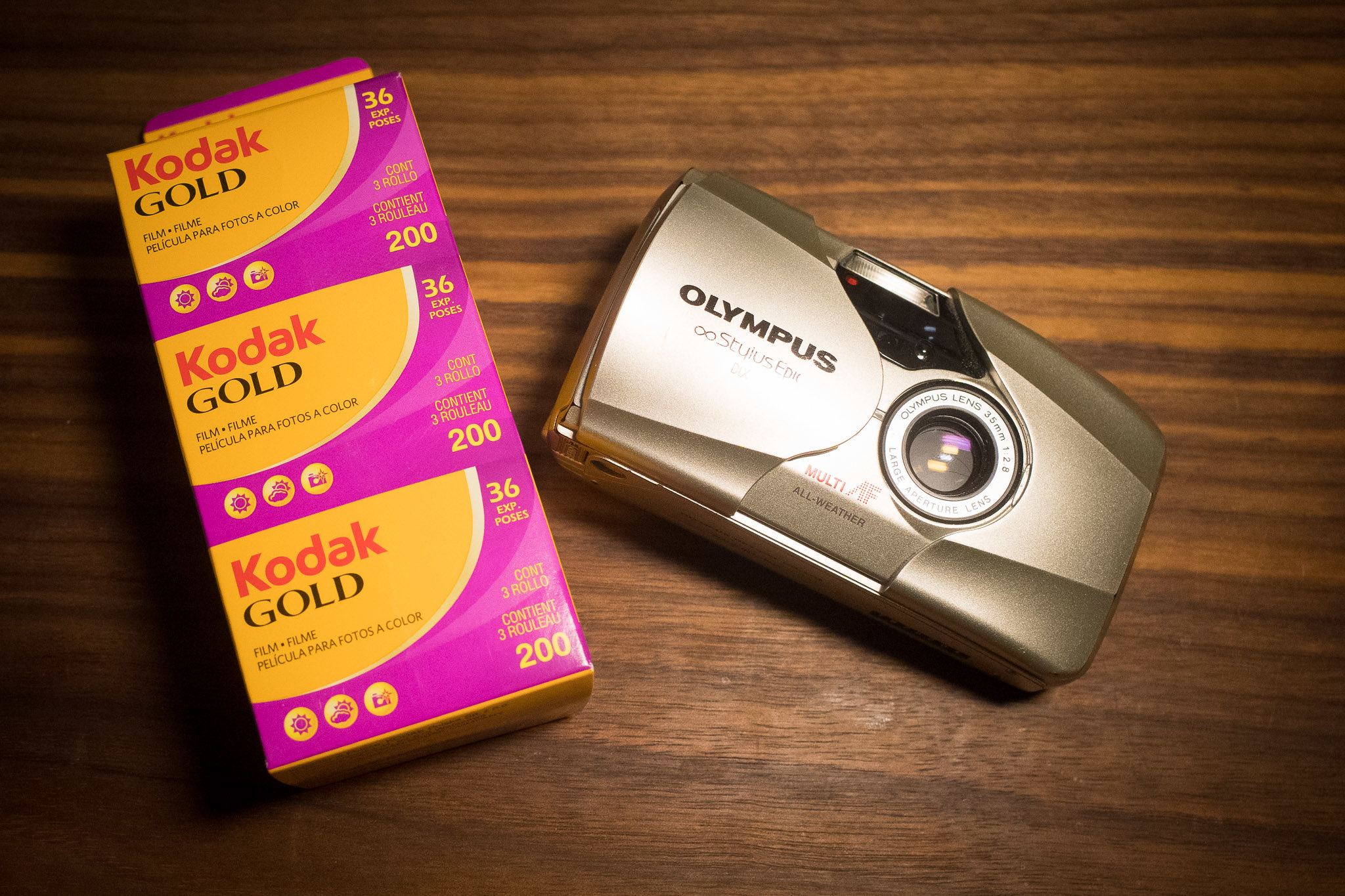 Stylus Epic and Kodak Gold