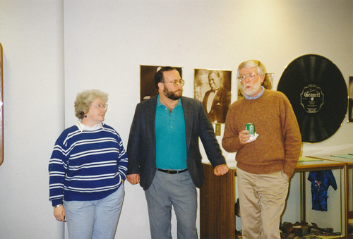 Eleanor with Mark Thomas and George Blakey