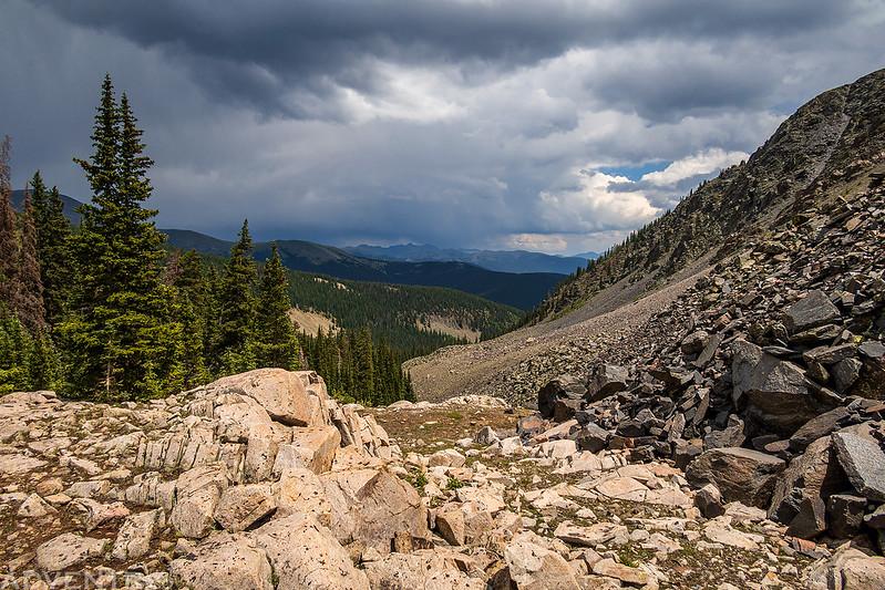 View Behind Camp