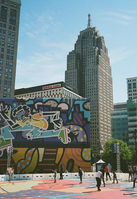 Detroit, MI [Medium Format Film]