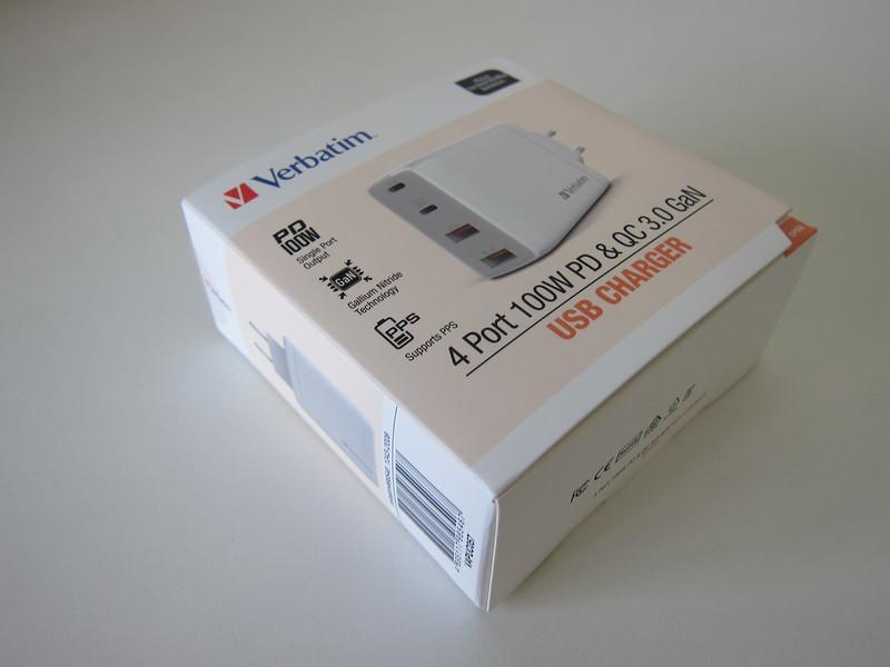 Verbatim 4-Port PD 100W Charger - Box