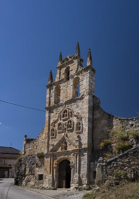 Hontangas, iglesia de la Virgen de la Cueva.