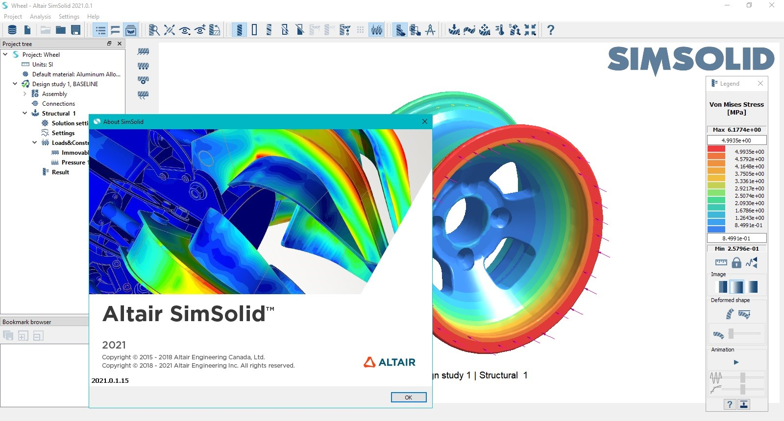 Working with Altair SimSolid 2021.0.1.15 Win64 full