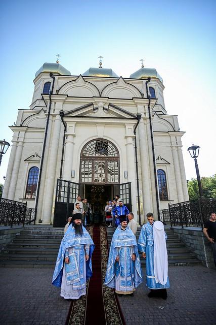 21 июля 2021, Митрополит Кирилл возглавил торжества по случаю престольного праздника Казанского кафедрального собора