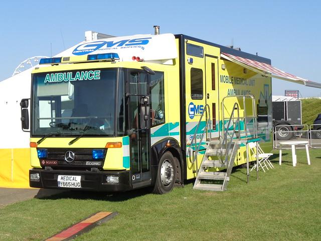 Central Medical Services Mercedes-Benz Econic (Y665 HUG)