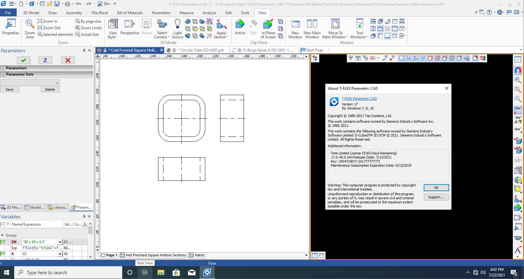 Working with T-FLEX CAD Systems v17.0.45.0 full