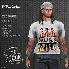 [Selene Creations] Muse tee shirt man