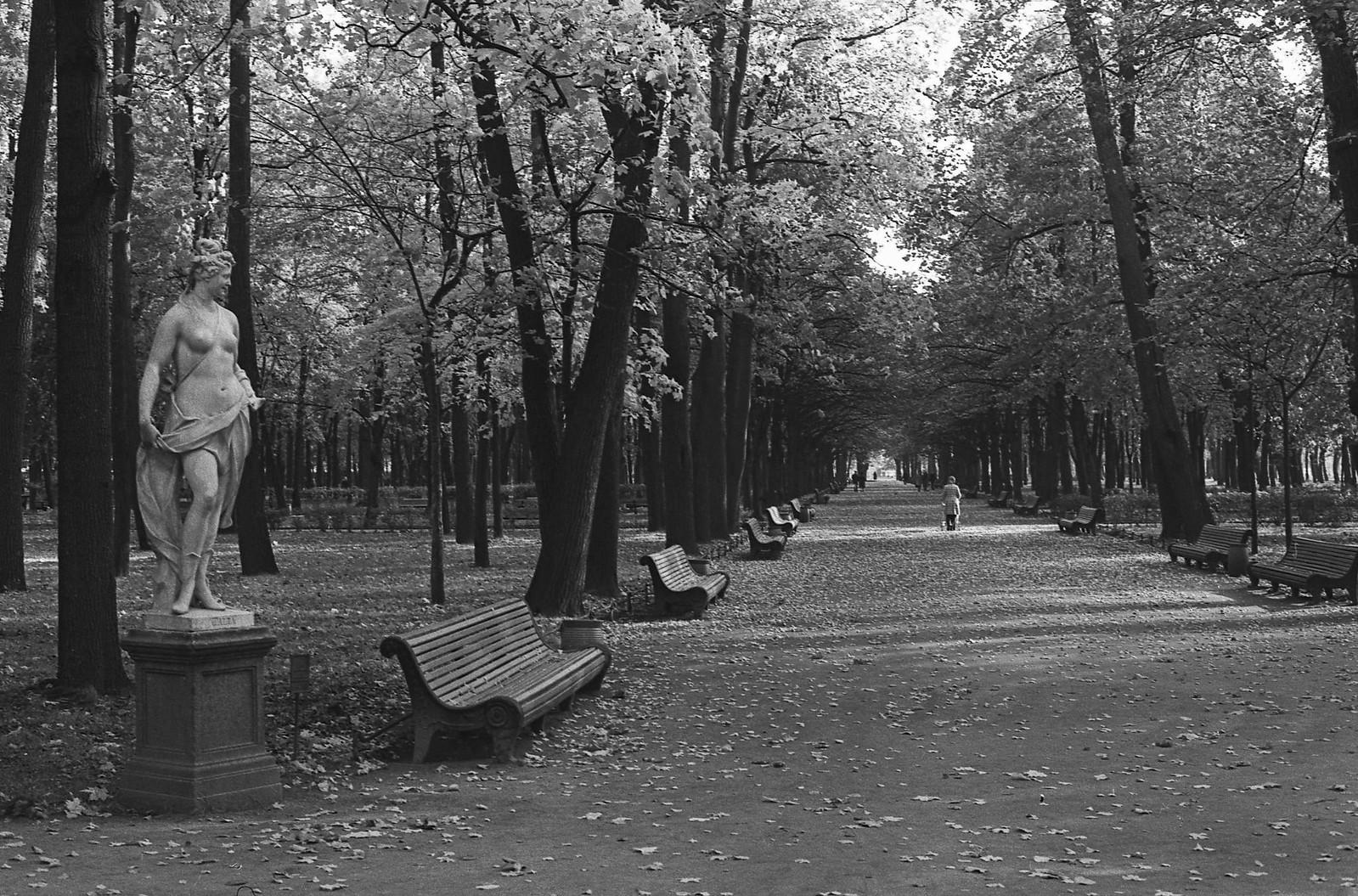 1965. В Летнем саду