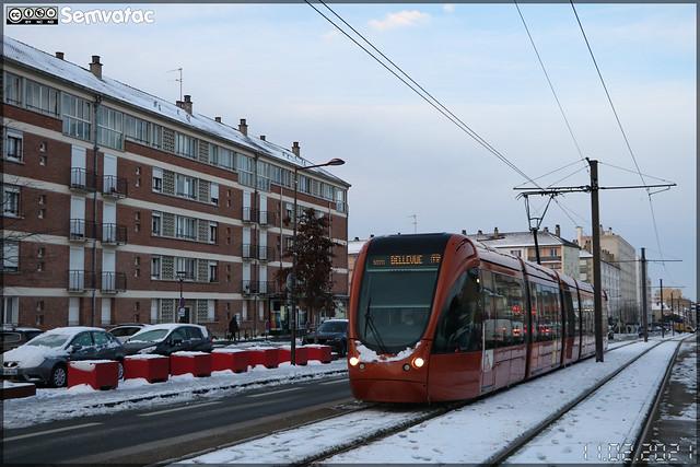 Alstom Citadis 302 – Setram (Société d'Économie Mixte des TRansports en commun de l'Agglomération Mancelle) n°1028 (Ruaudin)