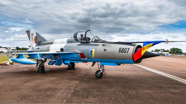 Romanian Air Force Esc 861 MiG-21 LanceR C