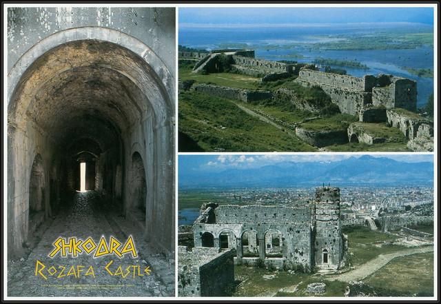 8537 R Rozafa Castle, Kalaja e Rozafës, Shkodër Castle, Kalaja e Shkodrës, Shkodër, Shkodra,  Albania, Shqipëria, ARBA editions, Photo by, Armando Baguca. 232